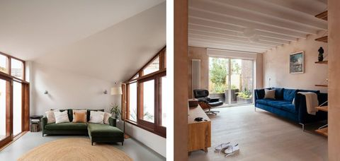 a cloistered house by turner architects and a council house by vatraa