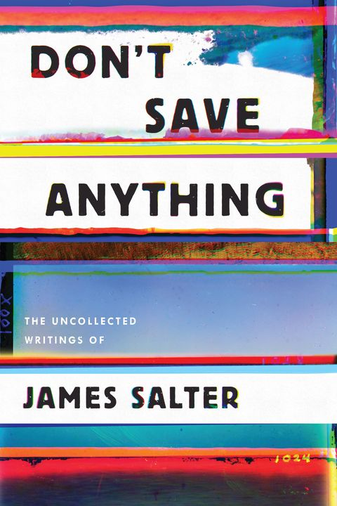 dont save anything book