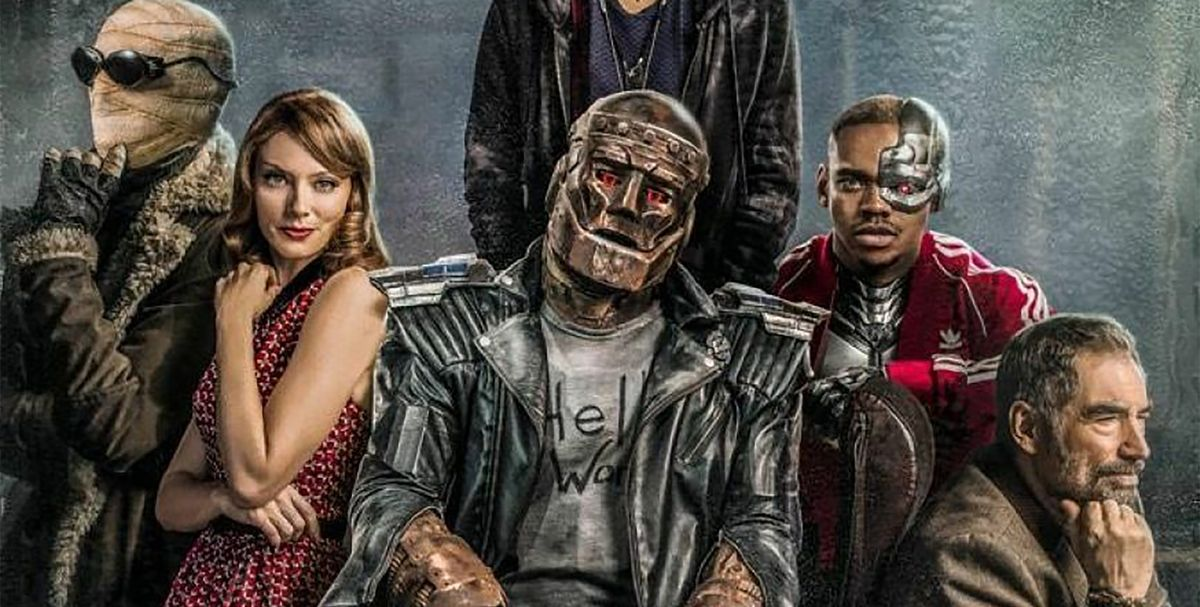 Worlds Of Dc S Doom Patrol Announces Season 2 Premiere Date
