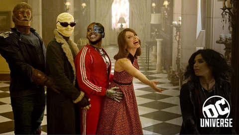 Dc Universe Drops A First Look At Doom Patrol Series