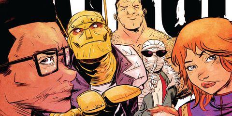 doom patrol serie dc comics