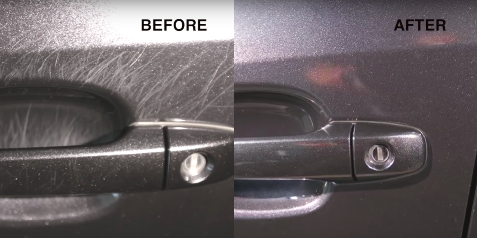 How to Remove Car Door Handle Scratches