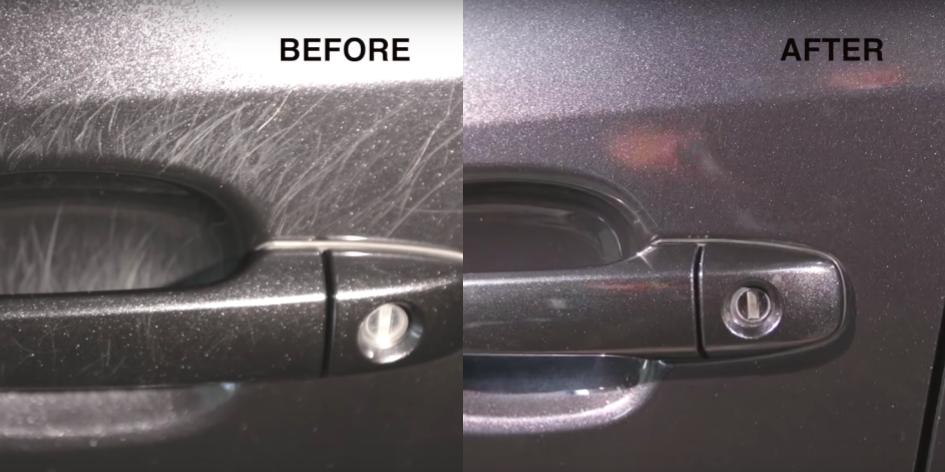 How To Remove Car Door Handle Scratches