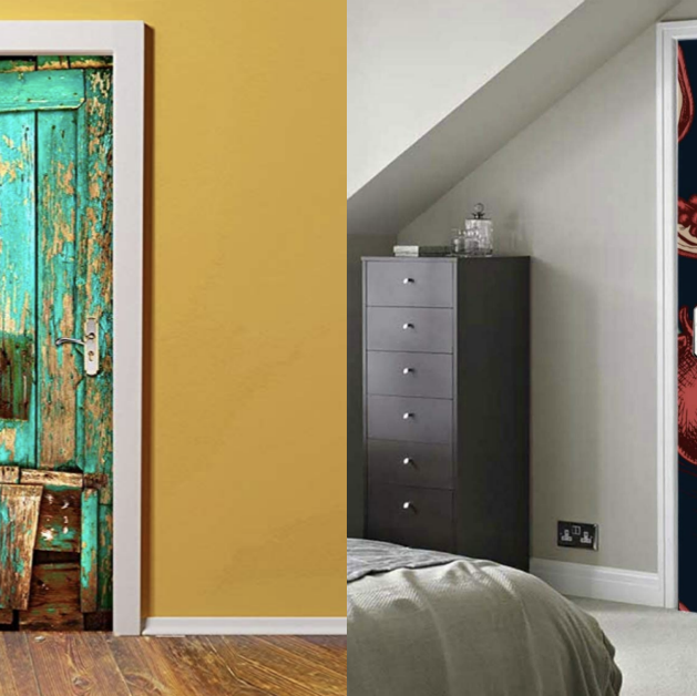 Door, Room, Wall, Interior design, Furniture, Art, Glass, Window, Collection, House,