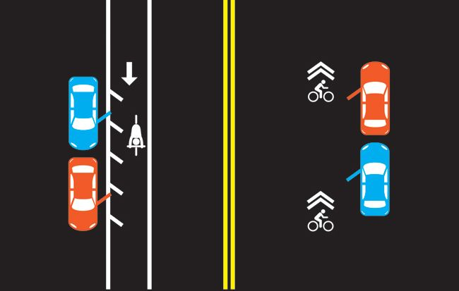 & Donu0027t Get Doored: How to Ride Safely Around Parked Cars | Bicycling