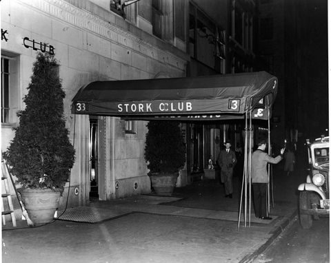 The 'Stork Club' In New York City