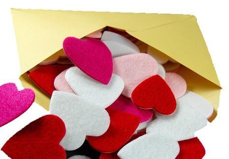 Heart, Construction paper, Pink, Petal, Valentine's day, Love, Art paper, Paper, Carmine,