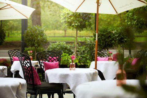 restaurants with terraces