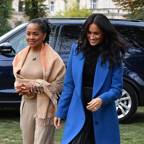 Meghan Markle's Mom, Doria Ragland, Will Attend Her Baby Shower in the U.K.