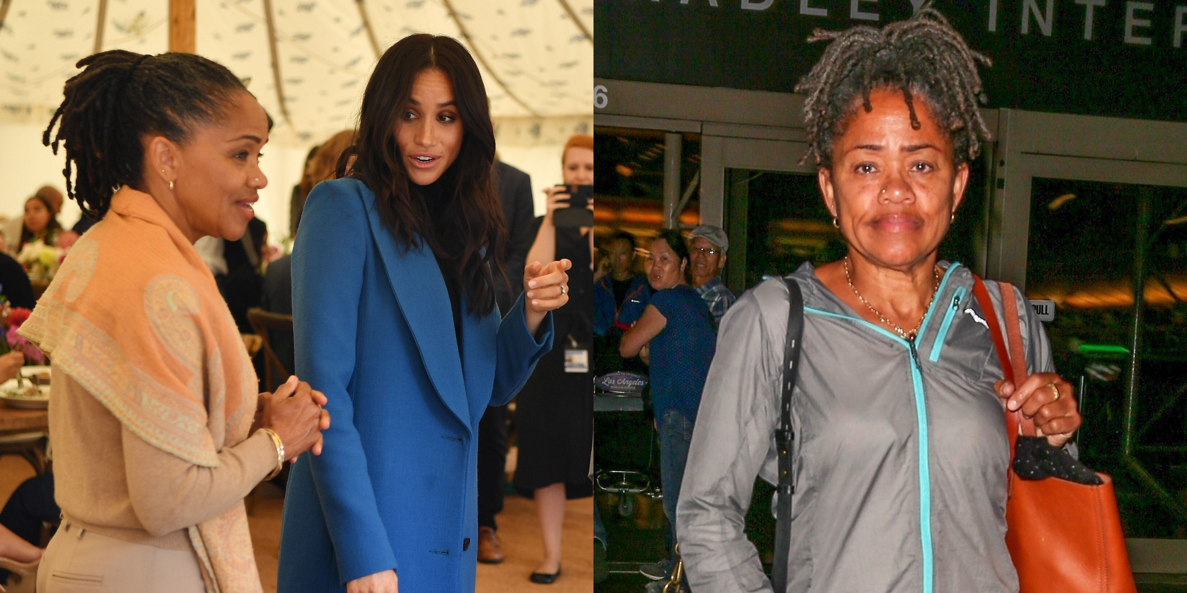 Doria Ragland Spotted at LAX -...