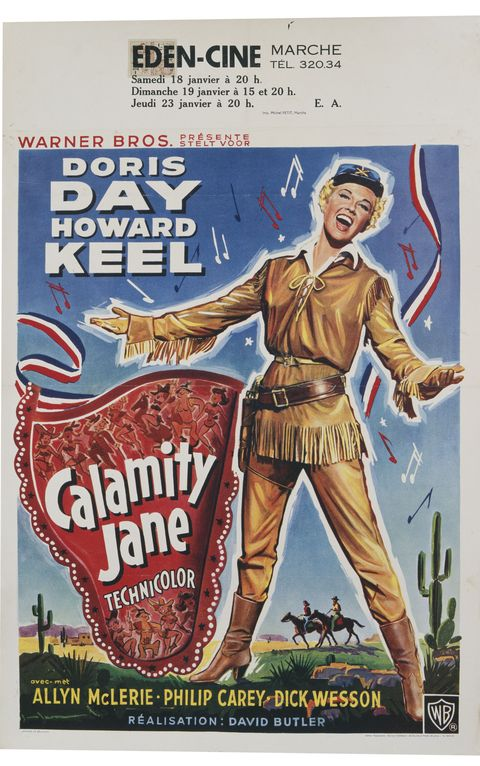 doris day movies calamity jane