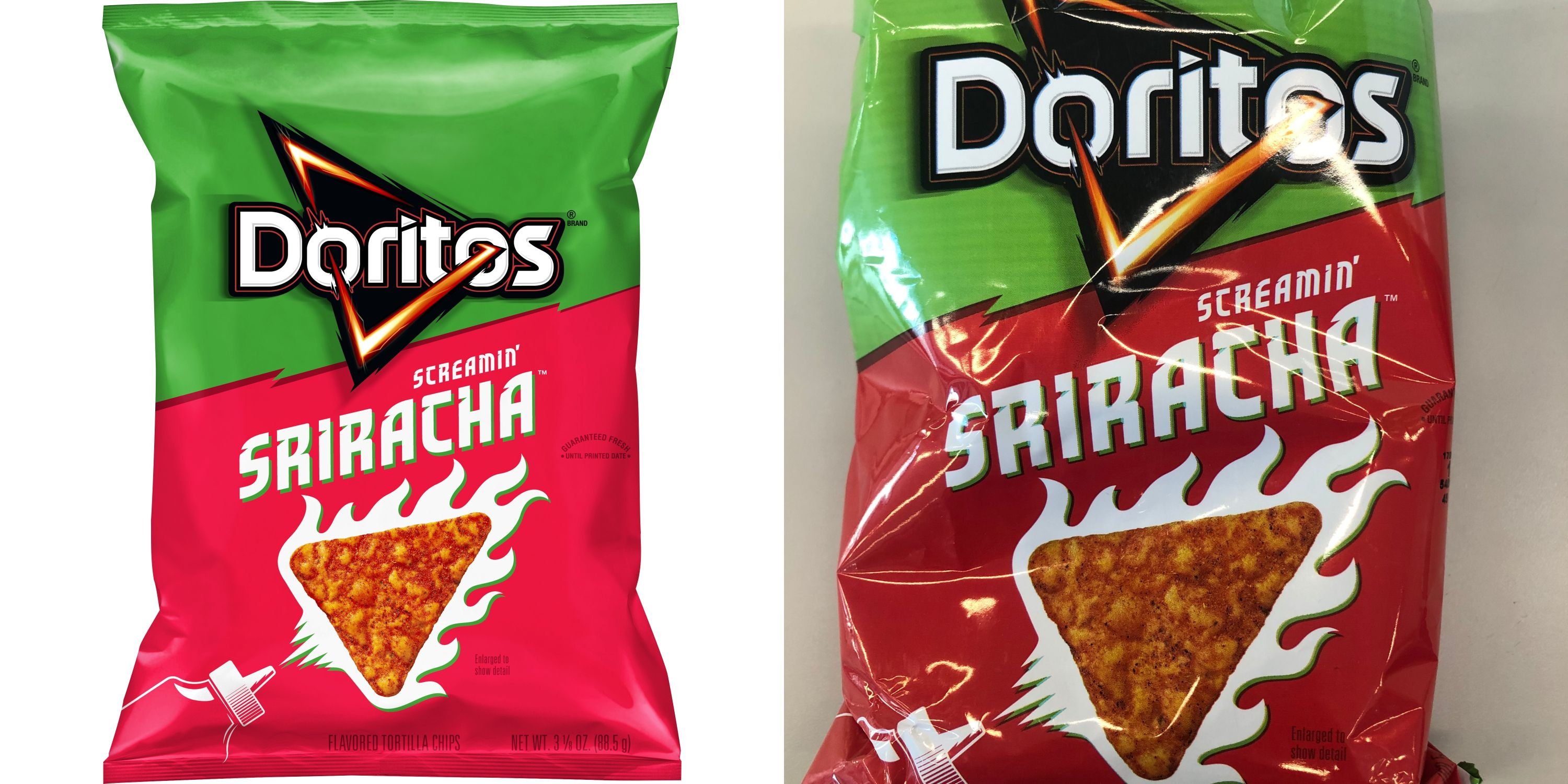 Doritos Announced A Sriracha-Flavored Chip That's Only Around For A Limited Time