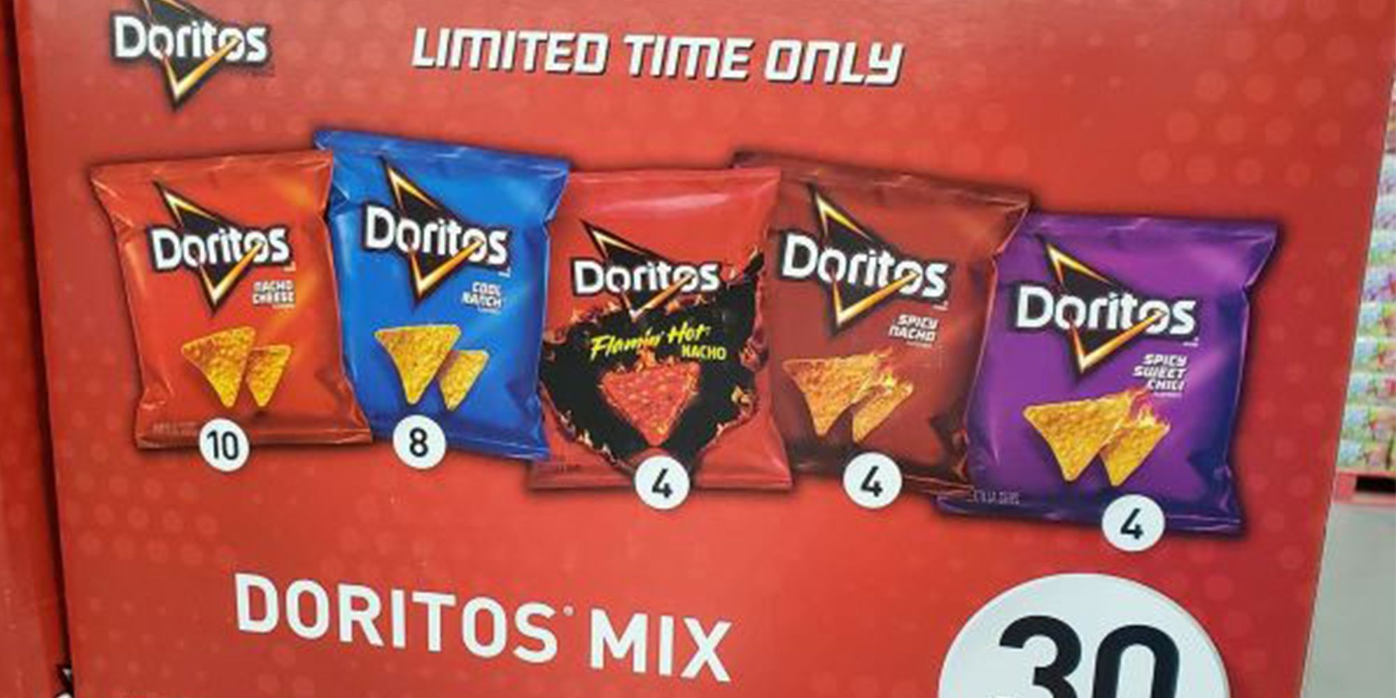 Sam's Club Is Selling A Limited-Edition Box Of Doritos With 5 Different Flavors