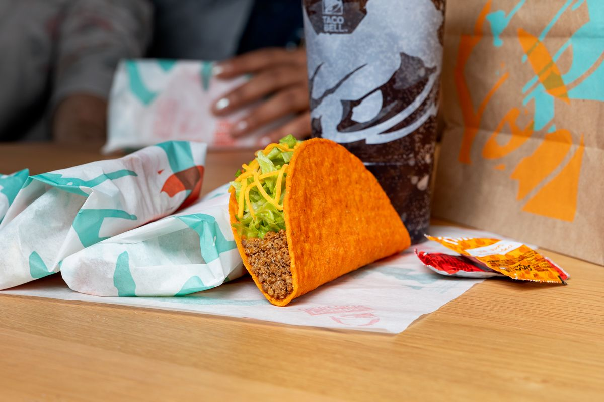 Taco Bell Is Giving Out Free Doritos Locos Tacos TODAY and Here's How To Get One