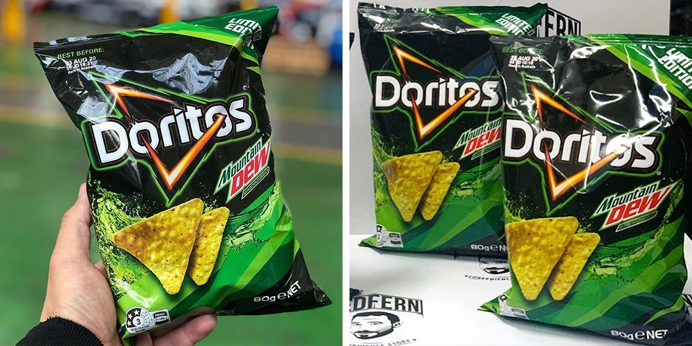 Mountain Dew-Flavored Doritos Are Here To Take Your Snacking Game To A Whole New Level