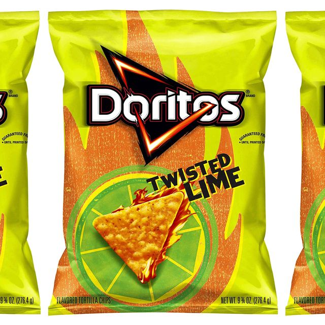 doritos twisted lime chips