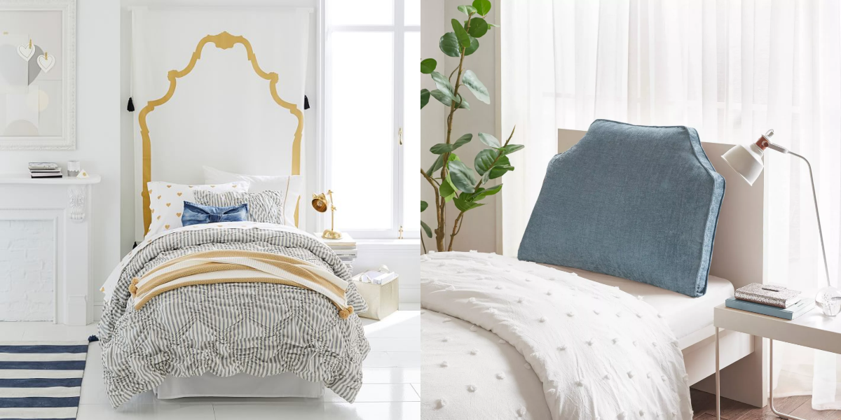 10 Genius Dorm Room Headboard Ideas to Upgrade That Boring School-Issued Bed