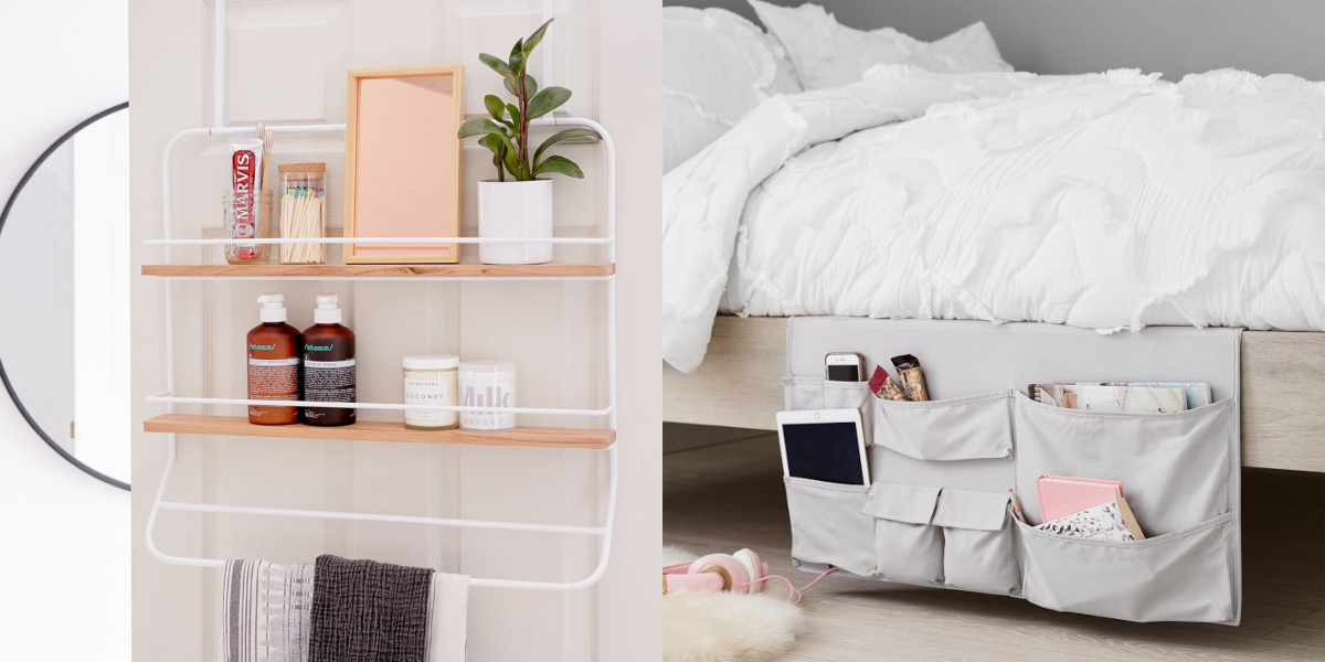 20 Dorm Room Storage Ideas for the Most Organized Room Ever