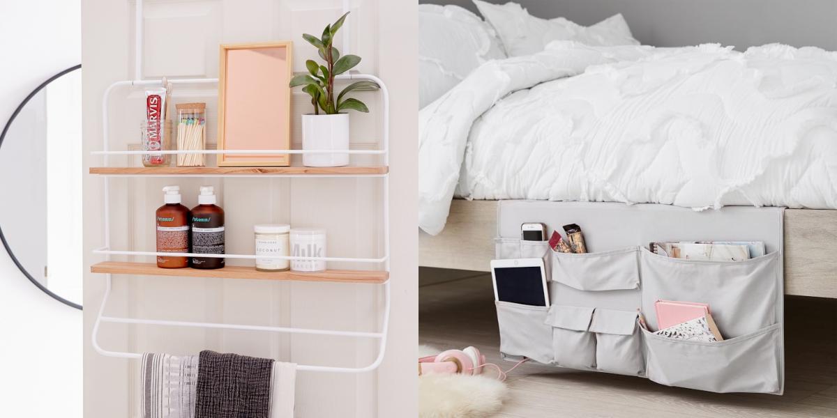 20 Best Dorm Room Storage Ideas College Dorm Organizers