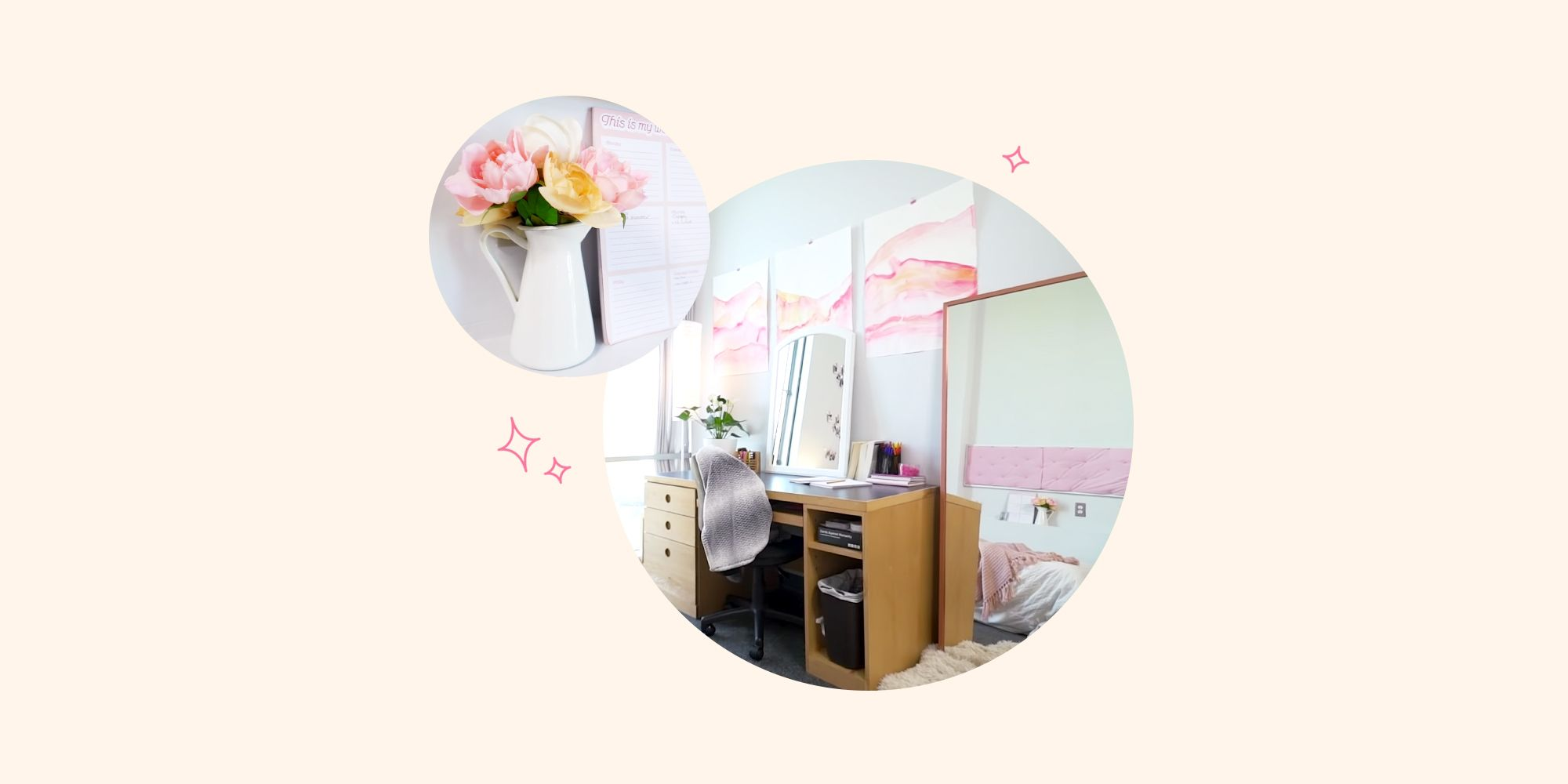 Image of: Dorm Room Ideas Most Amazing College Dorm Makeovers