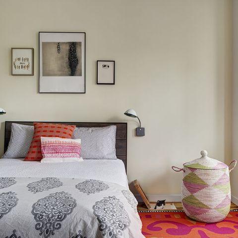 dormitorio boho moderno