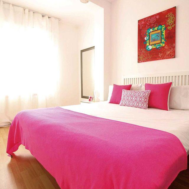 dormitorio luminoso antes y después