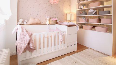 Dormitorio del bebé después de la reforma