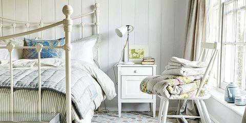 Dormitorio con encanto vintage