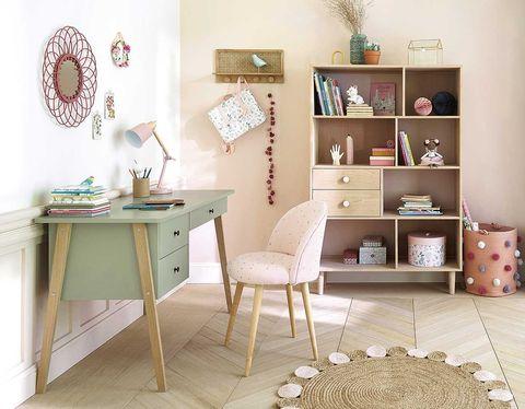 decoración infantil escritorio