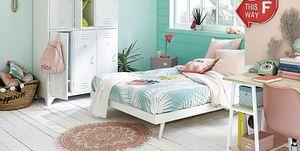 Dormitorio juvenil estilo playero