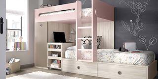 Muebles infantiles y juveniles micasa - Habitaciones infantiles tren ...