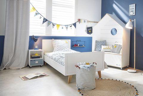 dormitorio infantil inspiración playera