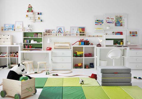 muebles infantiles para ordenar juguetes