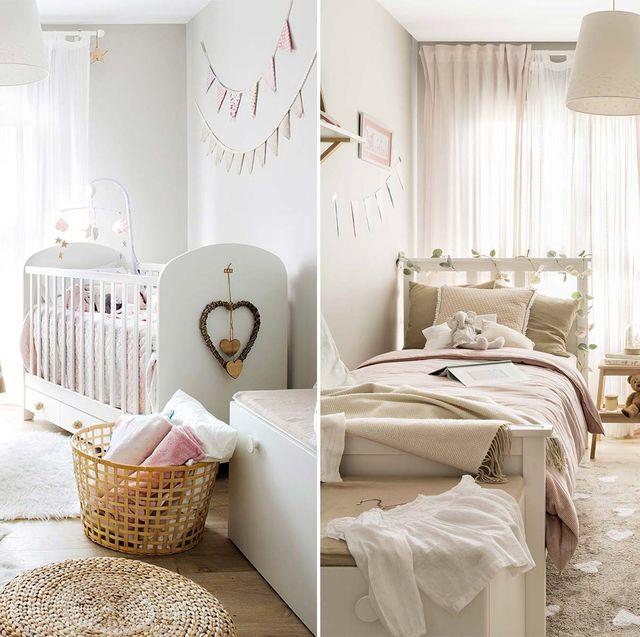 dormitorio infantil antes y después