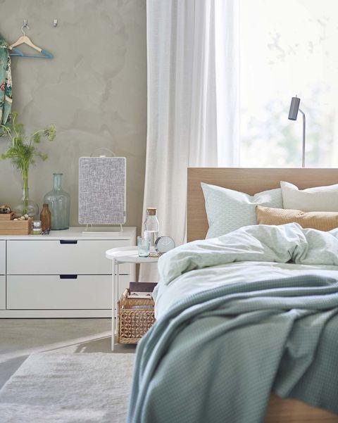 dormitorio moderno estilo escandinavo