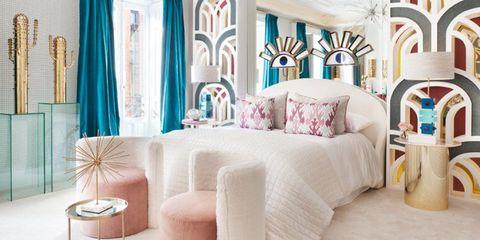 Dormitorio de Nuria Alia en Casa Decor 2018