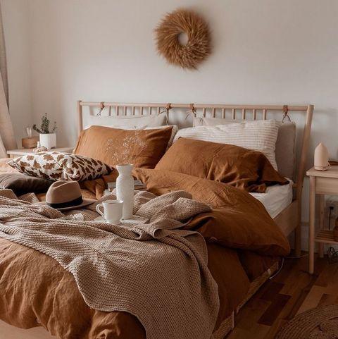 dormitorio otoño