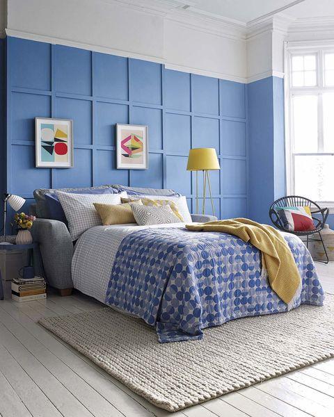 dormitorio moderno sofá cama en el salón