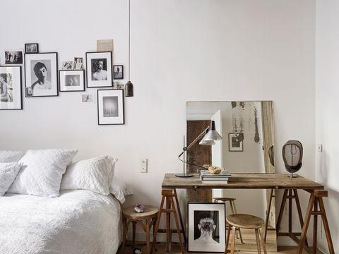 dormitorio romántico bohemio