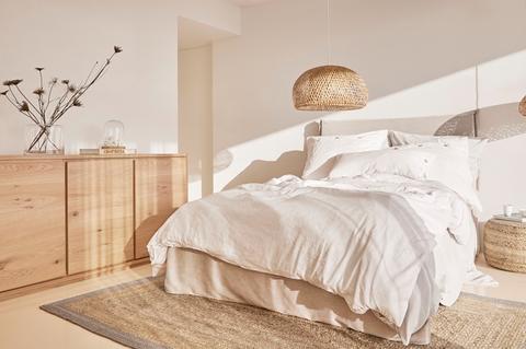 dormitorio tonos tierra