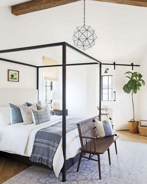 dormitorio moderno neorústico