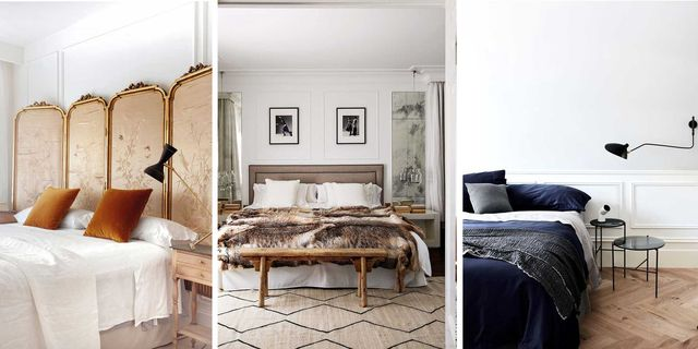 dormitorios elegantes en tonos neutros