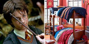 Dormitorios Harry Potter
