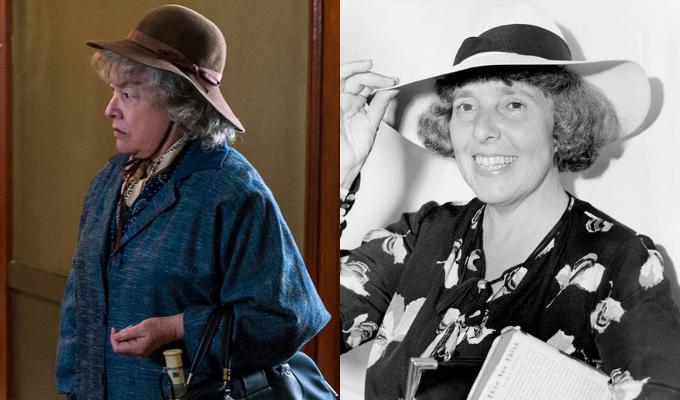 Kathy Bates as Dorothy Kenyon