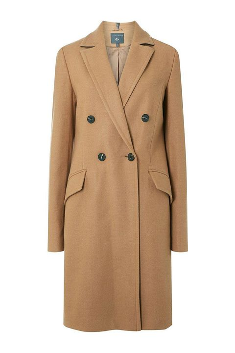 Dorothy Perkins cheap camel coat - double breasted camel coat
