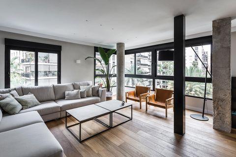 piso reformado en valencia con mucha luz