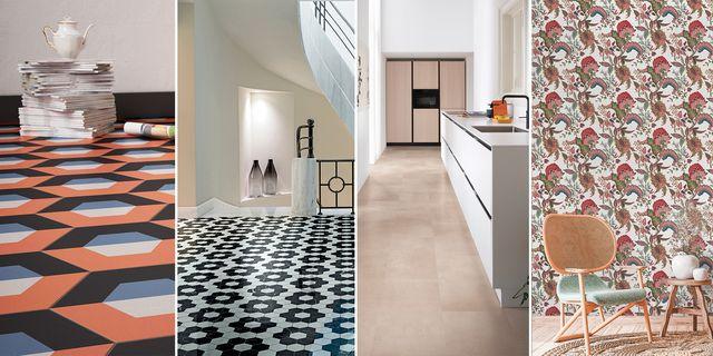 especial revestimientos cerámicos papel pintado suelos paredes materiales