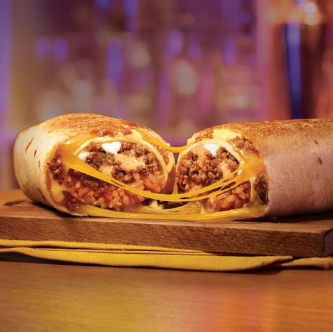 Taco Bell Is Testing A Double Beef Quesarito In North Carolina