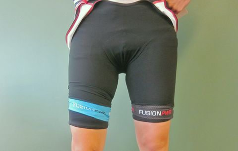 double chamois bike shorts
