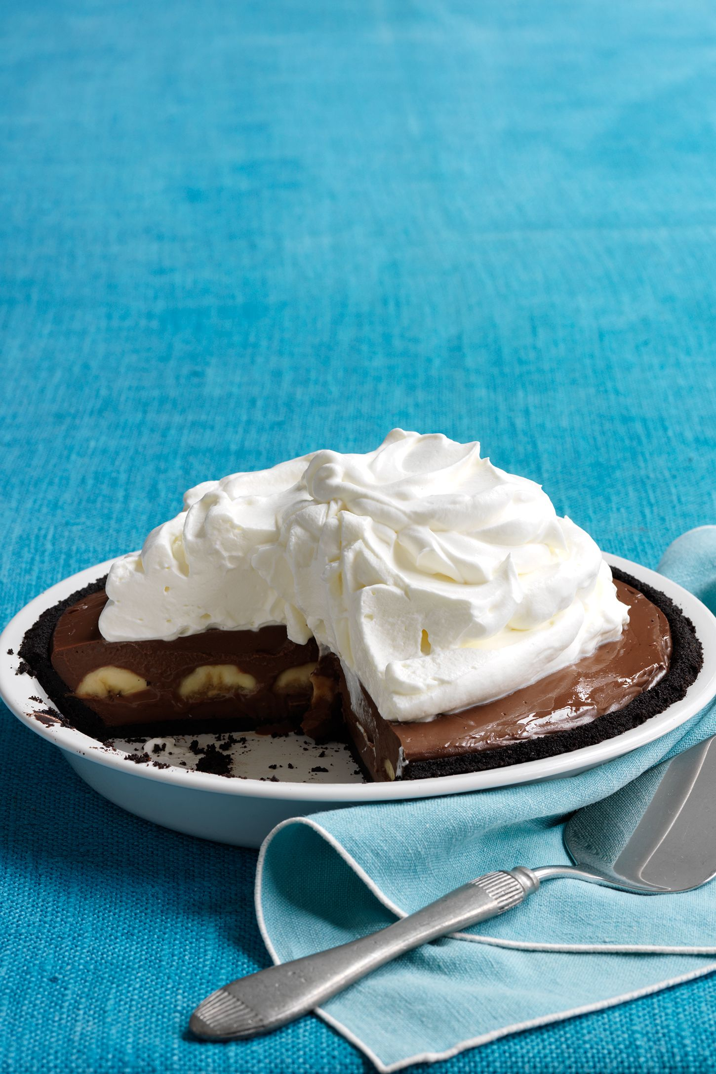double chocolate banana cream pie recipe